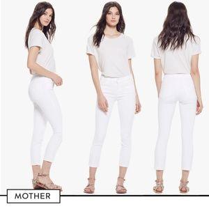 MOTHER The Looker Crop (Glass Slipper)